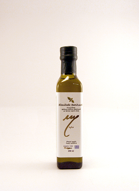 olive oil with Basilikum